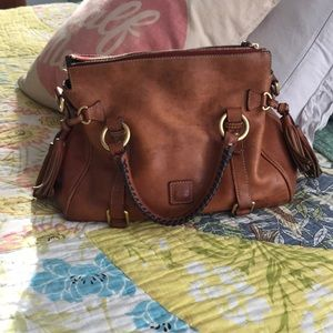 Dooney and Burke leather satchel